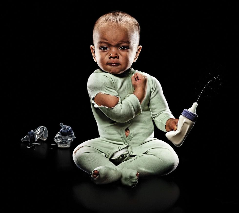 Эрик Сахрман и его младенцы-каратисты (США)