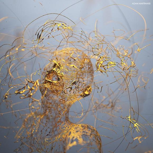 Цифровые скульптуры · Адам Мартинакис