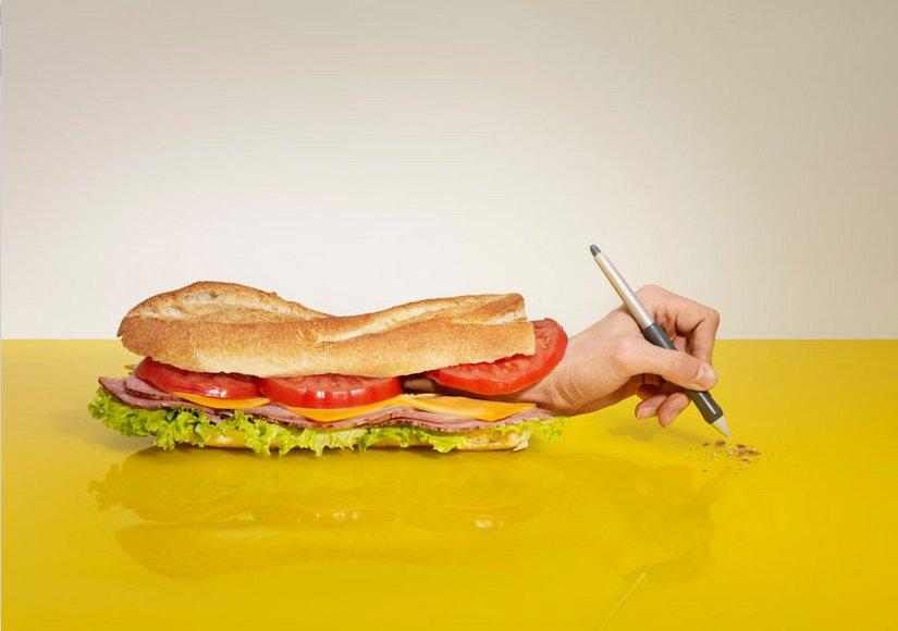 Реклама с юмором · La Souris sur le Gateau